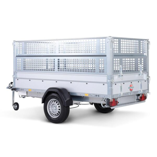 Avto prikolica SySTEMA nizki nakladalnik 750 kg 02
