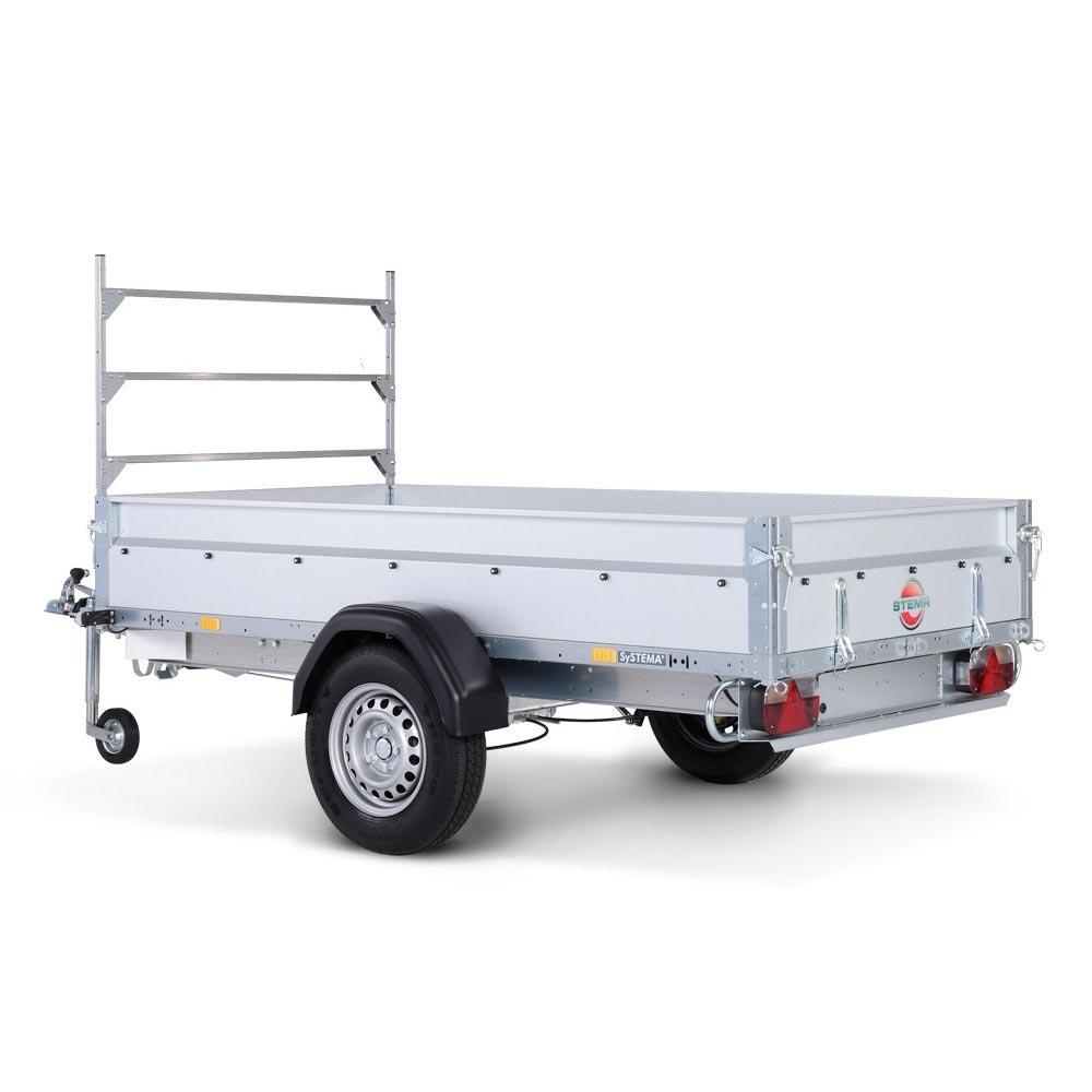 Avto prikolica SySTEMA nizki nakladalnik 750 kg 04