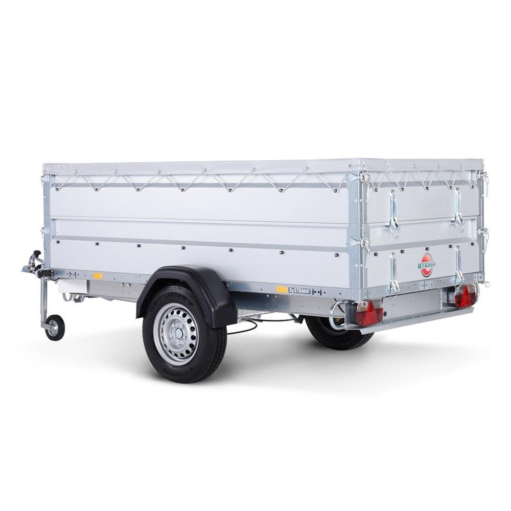 Avto prikolica SySTEMA nizki nakladalnik 750 kg 05