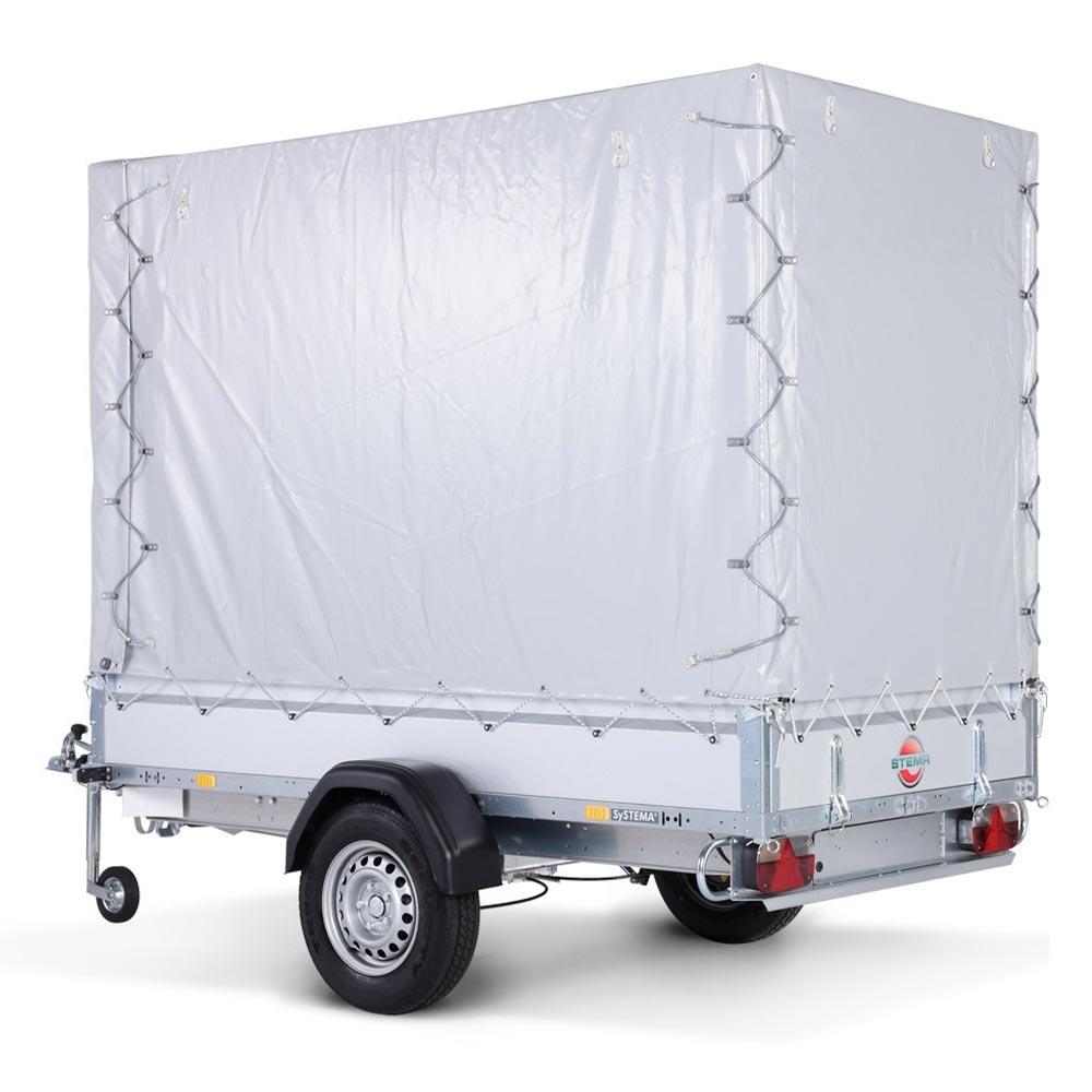 Avto prikolica SySTEMA nizki nakladalnik 750 kg 06
